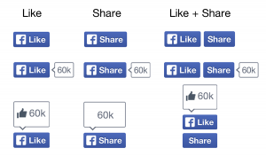 Facebook Like-Buttons